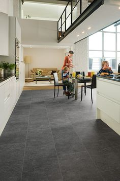 A Modern Kitchen Doesn T Always Need Much To Impress Great Laminate Flooring