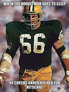 Classic Photo Image Gallery of NFL Hall of Fame Linebacker Ray Nitschke played for the Green Bay Packers from 1958 to 1972 Packers Gear, Go Packers, Packers Football, Greenbay Packers, Giants Football, Green Bay Packers Fans, Green Bay Packers Merchandise, Ray Nitschke, Nfl Football Players