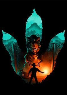 Jurassic Footprint, a t-shirt by alemaglia at UmamiTees Jurassic Park Tattoo, Jurassic Park Poster, Jurassic Park 1993, Jurassic Park World, Jurrassic Park, Park Art, Chris Pratt, Jurassic World Wallpaper, Jurassic Movies