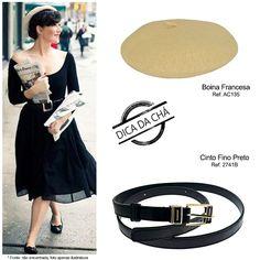 boina francesa é o acessório certo para dar estilo e glamour vintage #retro #fashion #chademulher
