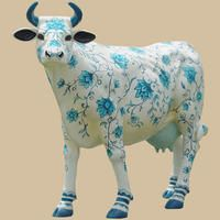 China Cow, life size cow, cow replica, cow statue