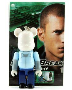 Fox Prison Break BE@RBRICK BEARBRICK FILM PEPSI NEX Japan  20th Century