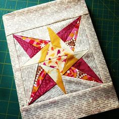 """Journal with lucky stars 6"""" block   Flickr - Photo Sharing!"""