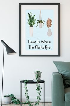 Looking for a Inspirational modern wall art to go in your home? This hanging plant art print is the perfect addition to your living room decor. It is an instant download so you can print it straight away, no having to go out to shops, no waiting times, no shipping costs! Awesome!! Discover more inspirational quotes and abstract wall art here #inspirationalwallart #hangingplants #livingroomdecor #instantdownload #inspirationalquotes What Sells On Etsy, Art Decor, Room Decor, Summer Plants, Plant Art, Inspirational Wall Art, Garden Gifts, Abstract Wall Art, Hanging Plants