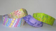 No Slip Headband, Purple, Lime, Wide, Flowers, Batik, Elastic Headband, Sweaty Band, Yoga Headband, Girl Gift, Marathon