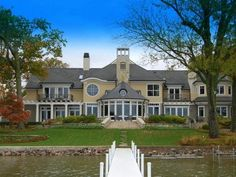 #42 INDIANA: A $4.8 million lakefront property with 5-bedrooms, 5.5 bathrooms