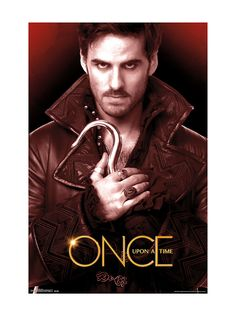 Trends International Once Upon A Time Hook Wall Poster X x wall poster Officially licensed poster High Quality - Crystal clear image Printed on FSC-certified paper at FSC-certified printers Ready to frame Captain Swan, Captain Hook, Poster Wall, Poster Prints, Disney Wall Art, Once Up A Time, Teen Wolf Memes, Disney Home Decor, Disney Posters