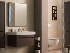 modern italian bathroom from gsi ceramica
