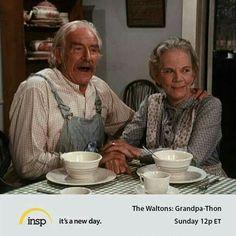 Grandma & Grandpa Walton!