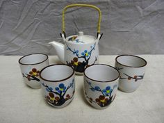Oriental tea-set by TimeHonoredFinds on Etsy