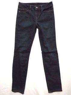 Joes size 24 Ankle Skinny crop Mid rise waist EUC Lainey dark wash Womens jeans #JoesJeans #SlimSkinny