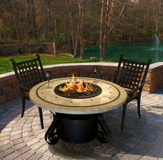 California Outdoor Concepts Firepit Tables - Perfect accent to your backyard