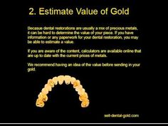 How To Sell Dental Gold - This video goes through the dental gold selling process. Follow these steps and earn cash for dental gold today.