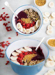 Raw Açai Berry Breakfast Bowl