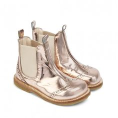 Angulus Metallic girls Chelsea boots for Autumn/Winter