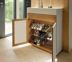 Hallway shoe cabinet / Chosen by Wharfside /  designed by Team7