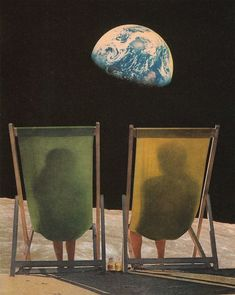 Holiday II By Joe Webb #collage