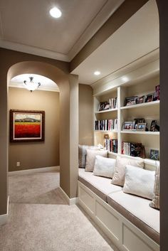 long narrow basement ideas - Google Search