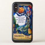 Falln Look Out Halloween Time Speck iPhone X Case #halloween #happyhalloween #halloweenparty #halloweenmakeup #halloweencostume