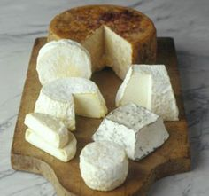 Andante Dairy's beautiful cheeses from California. BKLYN Larder is one of the only places to get them in NYC!