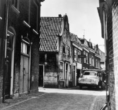 De Lange Hofstraat in 1957