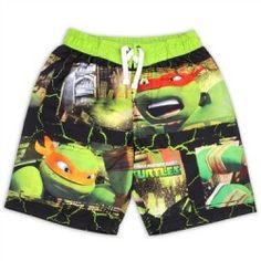 Teenage Mutant Ninja Turtles Boys Swim Trunks