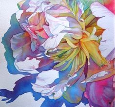 LOVE this flower painting