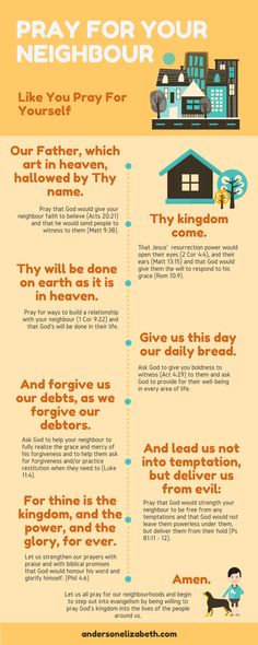 Take your first step in evangelism by praying the Lord's Prayer into the life of your neighbour.