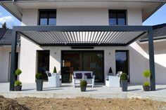 The wooden pergola is a good solution to add beauty to your garden. If you are not ready to spend thousands of dollars for building a cozy pergola then you may devise new strategies of trying out something different so that you can re Corner Pergola, Deck With Pergola, Wooden Pergola, Covered Pergola, Backyard Pergola, Pergola Kits, Pergola Ideas, Metal Pergola, White Pergola