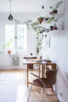 SCANDINAVIAN HOME WITH A LOT OF PLANTS | thatscandinavianfeeling.com