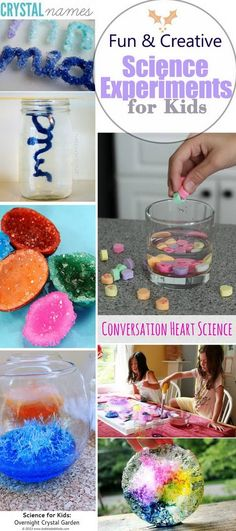 Lots of Fun and Creative Science Experiments for Kids!