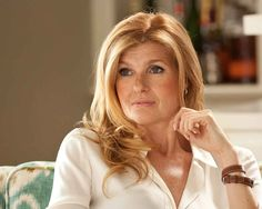 Connie Britton: She's not the biggest star in Hollywood, but by flipping the usual career arc — and career expectancy — for leading women of a certain age, she may be one of the most important. Friday Night Lights, Connie Britton Nashville, Blonde Color, Hair Color, Tv Moms, Colored Hair Tips, Star Wars, Queen Hair, Strawberry Blonde