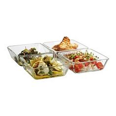 IKEA - MIXTUR, Oven/serving dish, Stack the smaller sizes inside the larger of the same range, to save space when not in use.