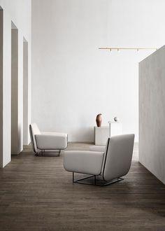 Ovo chair created by British designer Damian Williamson for Danish brand Erik Jørgensen.