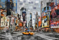 New York by Ross C. Kelly, Archival Inkjet Prints on Board, x inches will be at Asia Contemporary Art Show 2012 in HK! Art Fair, Times Square, Contemporary Art, Asia, New York, Prints, Artist, Board, New York City