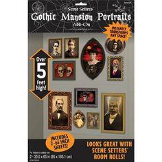 Scene Setter Cutout Mansion Portrait (85cm x165cm) Pack of 2