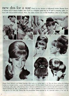 "Source: eyesturnedskyward: ""Hair Inspiration"" | 1960s"