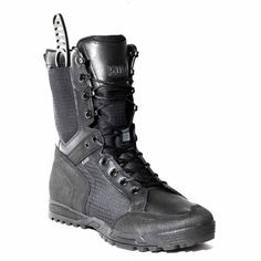 Tactical RECON Urban Boot luv it and love the built in sheath Tactical Survival, Tactical Gear, Tac Gear, Tactical Equipment, Tactical Clothing, Military Gear, Cool Gear, Body Armor, Plein Air