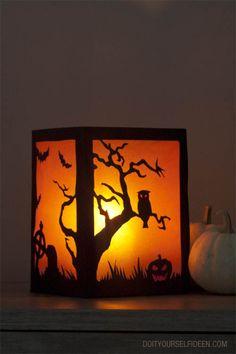 #Halloween-Laterne