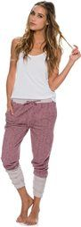 SWELL FLASHDANCE LOUNGE SWEAT PANT > Womens > Featured > 25% Off Jackets & Pants | Swell.com