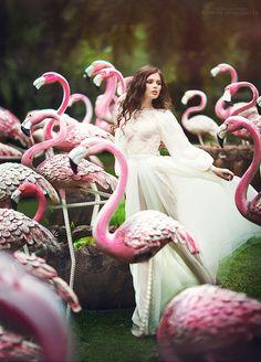 Modern Fairytale / Pink Fairy Book.  TOP 10 Stunning Fairytale Photos By Margarita Kareva #Part 2