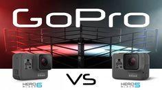Wat is het verschill tussen de HERO6 en HERO5? Er zit veel verschil tussen de GoPro HERO6 en zijn voorganger, hier zie je een complete vergelijking.