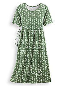 Print Knit Dress by Blair