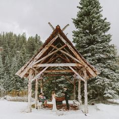love this gorgeous and snowy colorado elopement