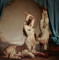 "Sure, S and M is all fun and games until someone gets hurt...""The Theater of Cruelty"" by Roberto Ferri."