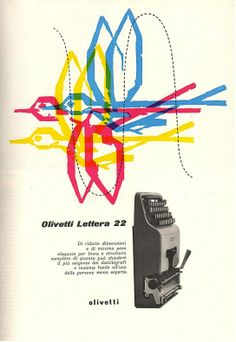 Lettera 22 Advertising, 1955