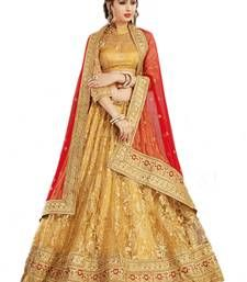Buy Beige lehengas from Mirraw.
