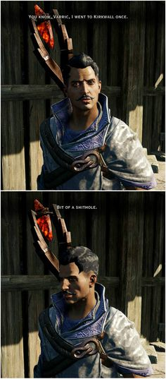 Yes, it is, Dorian - Dragon Age Inquisition