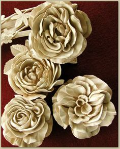 Google Image Result for http://davidesterly.com/imgs/contact.jpg Hand craved wooden flowers!