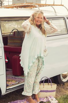 Summer Gypsy Moon Top, $79 AUD & Spring Gypsy Kitty Bloomers, $99 AUD.  Perfect gypsy picnic attire.